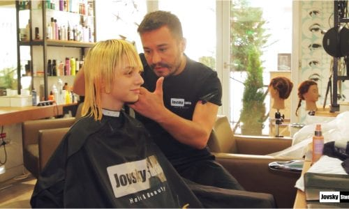 Making of Change is Fame - Jovsky Studio Hair trends for 2019